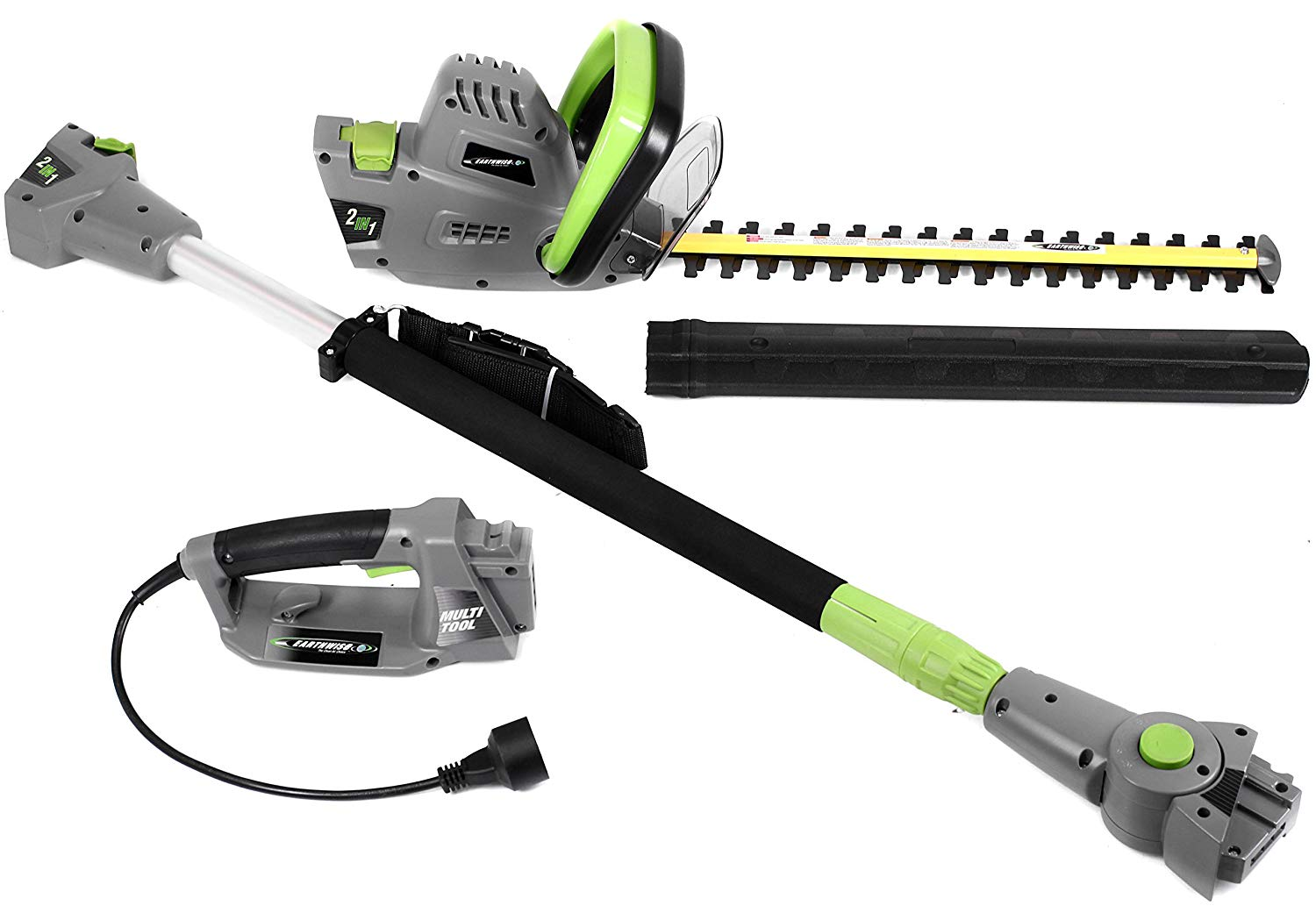 Earthwise CVPH43018 Corded 4.5 Amp 2-in-1