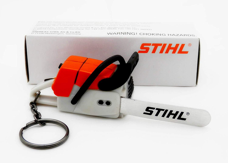 stihl battery operated chainsaw keyring