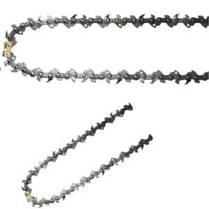 Chain on Electric Chainsaw