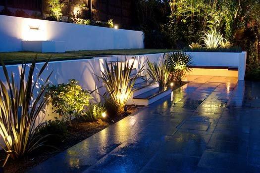 Garden Lighting London  Bespoke Garden Lighting