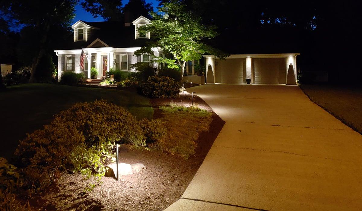 outdoor lighting designers transform