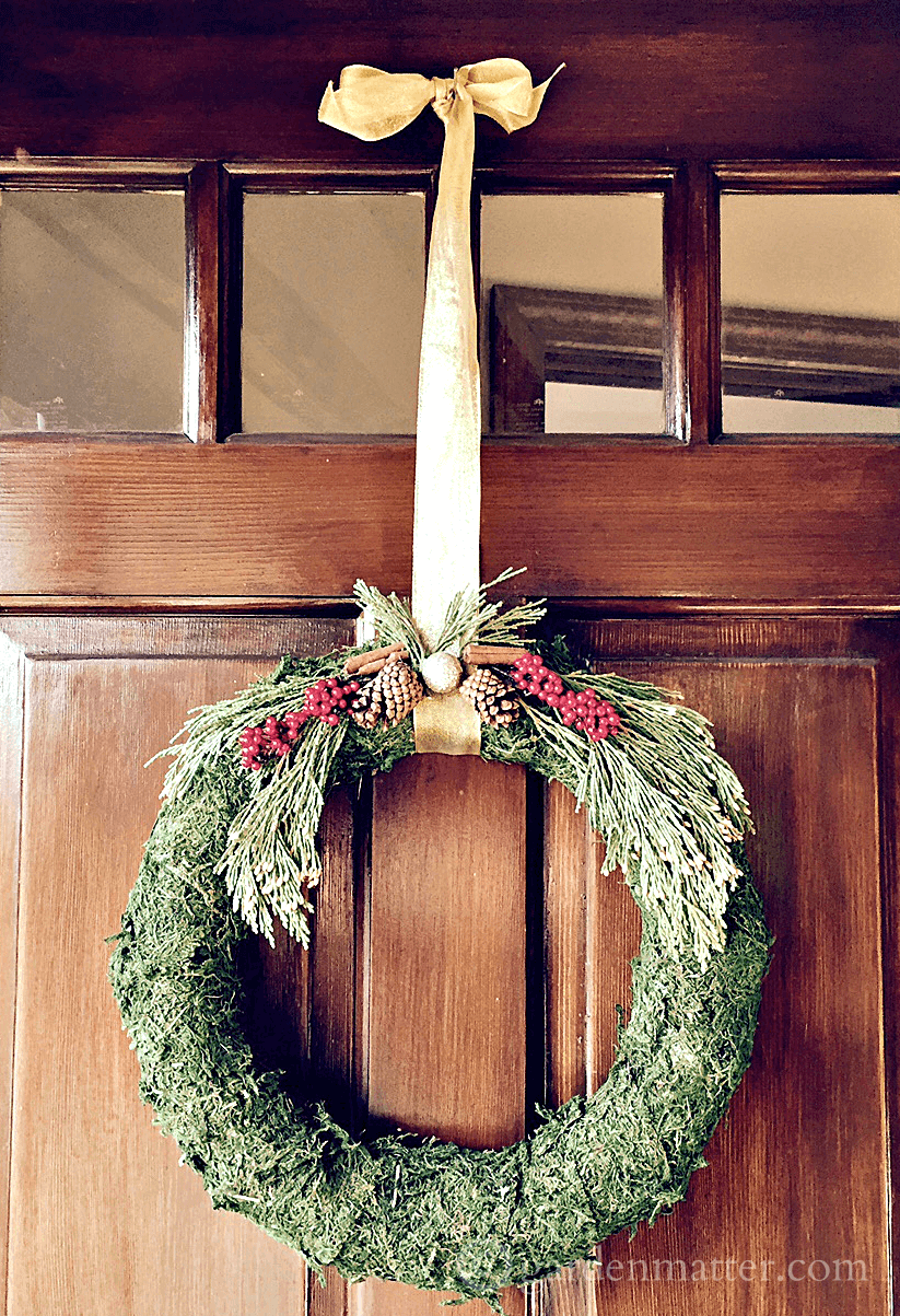 Moss Covered Wreath Tutorial - Garden Matter