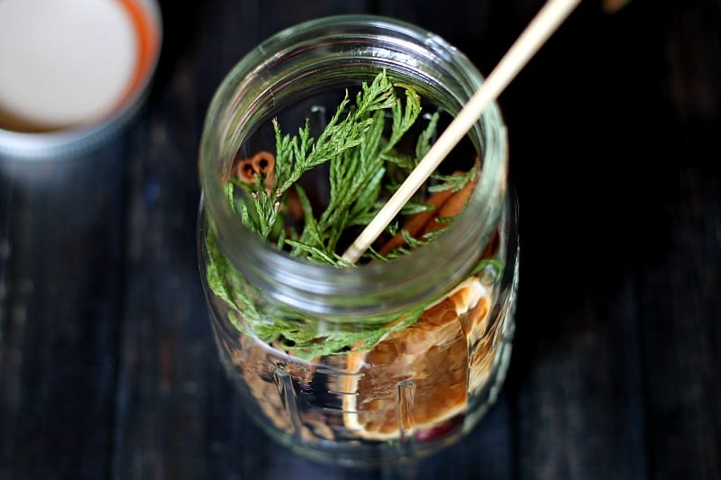Make a Mason Jar Oil Candle Lamp Garden Matter