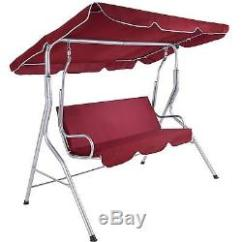 Hammock Chair With Canopy Kids Study Table And Red 3 Seat Swinging Bench Swing Sofa Cushion Outdoor Garden