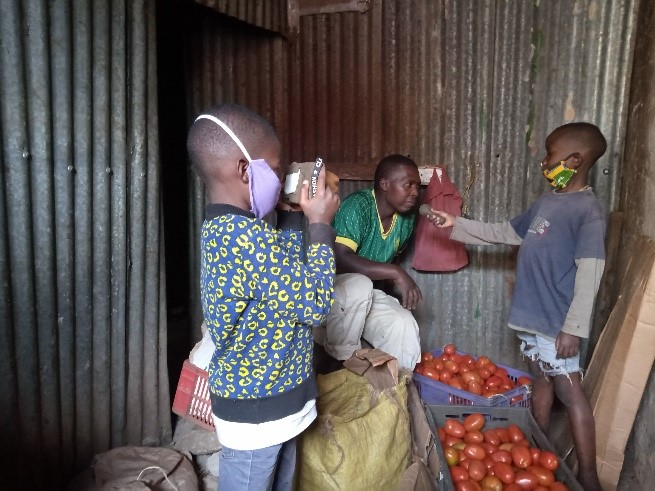 How two Kibera children are using comedy to pass covid-19 messages in the slum.