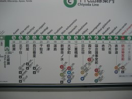 Subway Map, Japan