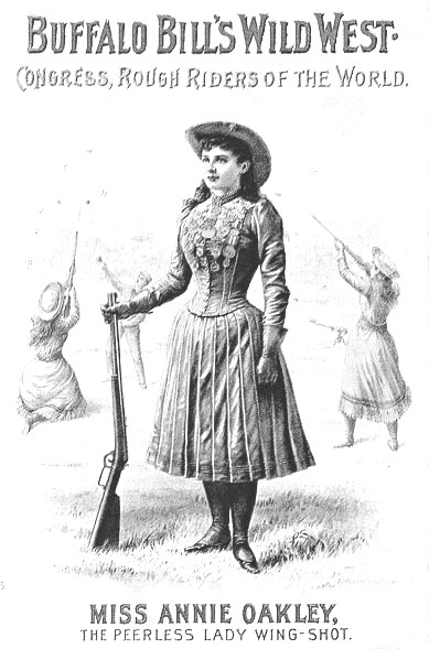Garden of Praise: Annie Oakley Biography