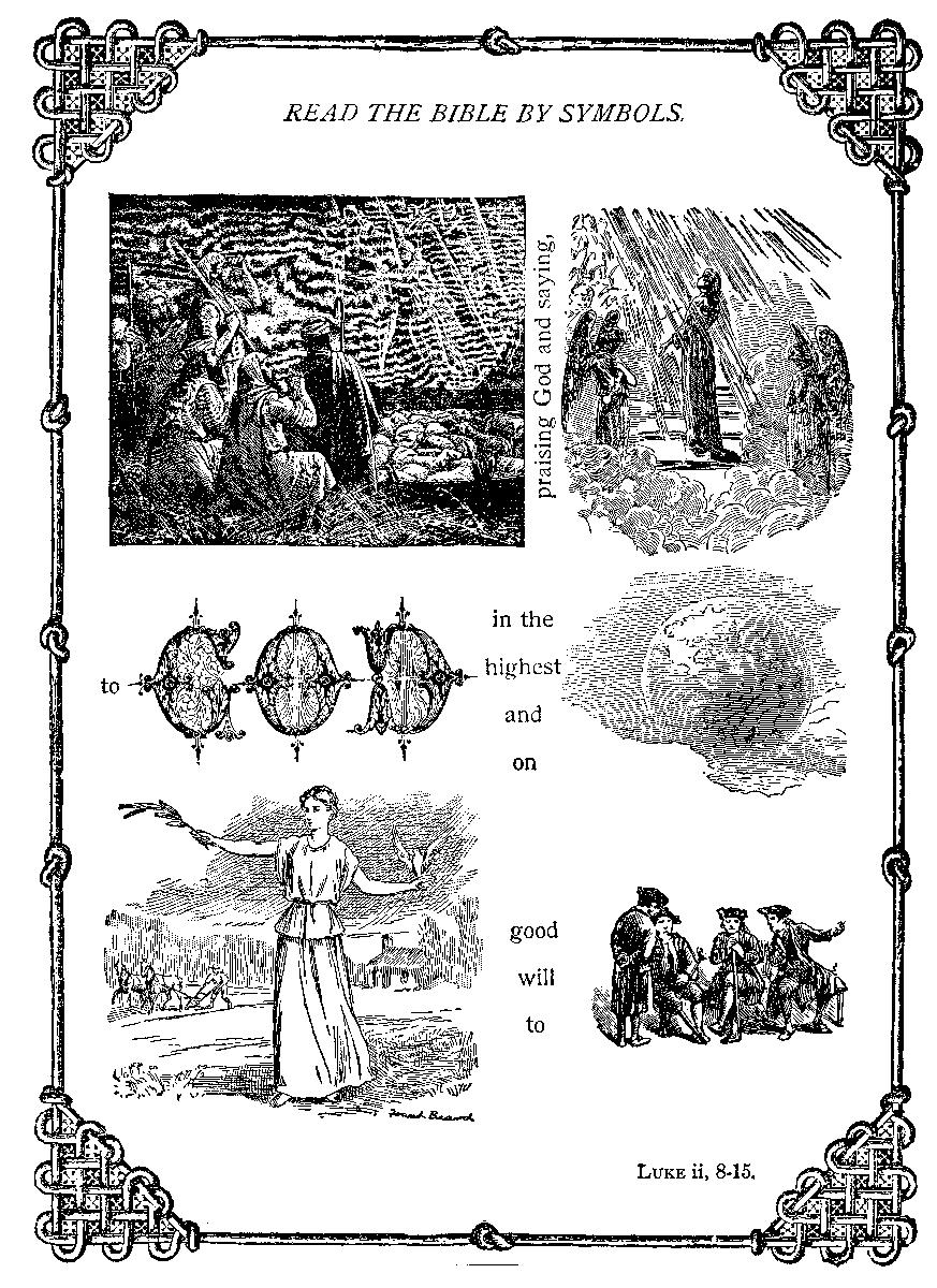 Picture Search Rebus Bible Verses Luke