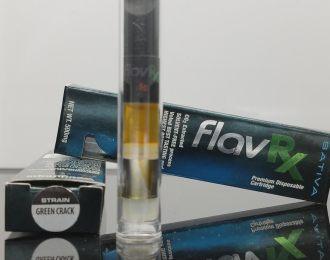 Green Crack 500mg FlavRx Co2 Oil Cartridge