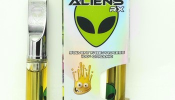 AliensRX DAB STICK Shatter Infused vape cartridge - Garden of Weeden