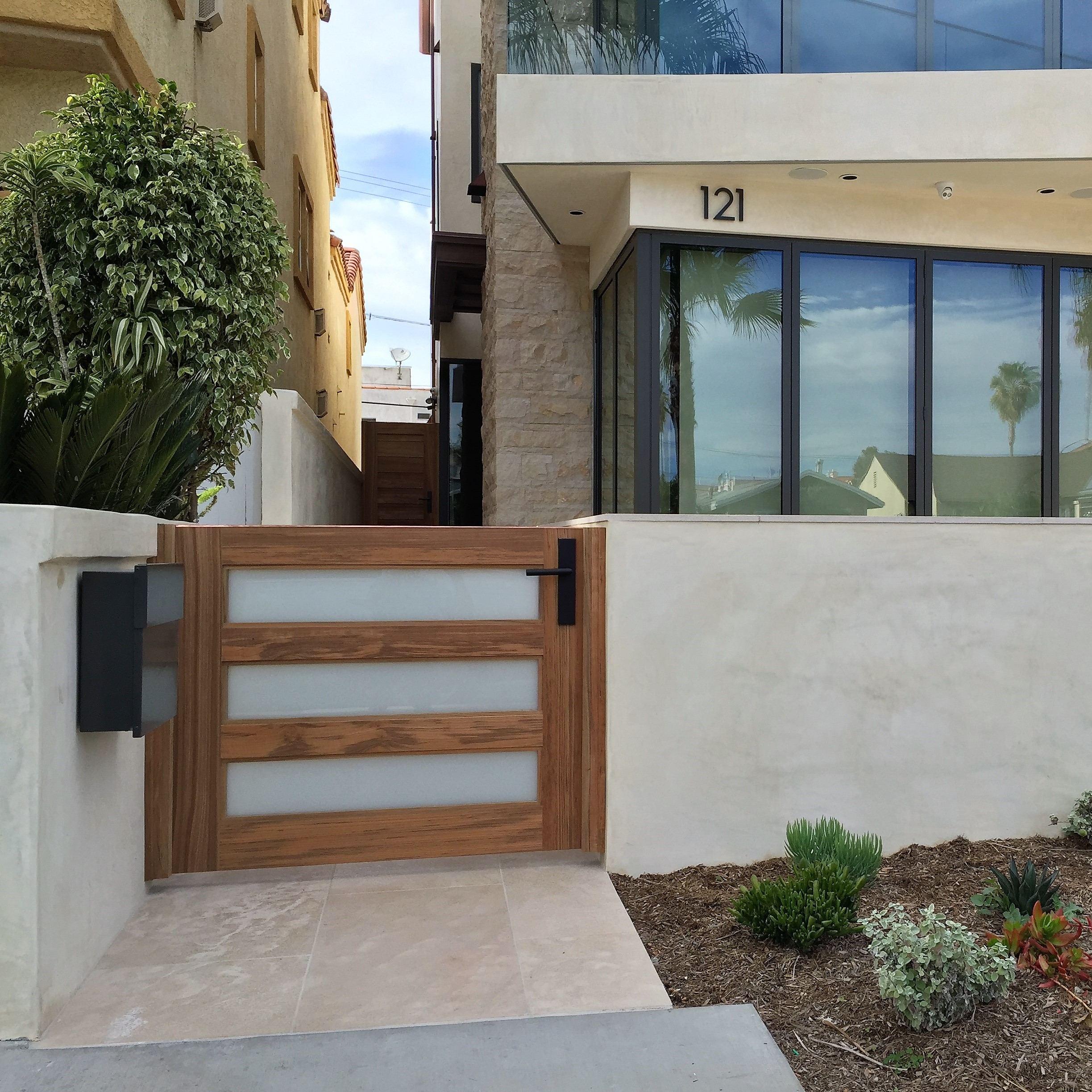 Modern Garden Gate