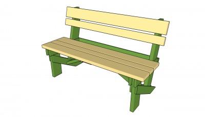 garden bench kit