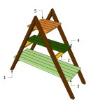 Woodwork How To Build An A Frame Plant Stand Pdf Plans