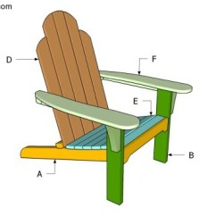 Adirondack Wooden Chair Plans Discontinued Henredon Dining Chairs Free Garden How To Build Building An