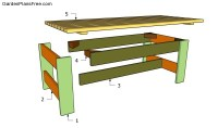 Free Coffee Table Plans | Free Garden Plans - How to build ...