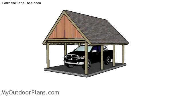 7 Free Carport Plans Free Garden Plans How To Build Garden