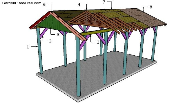 20x40 Rv Carport Plans Free Pdf Download Free Garden Plans