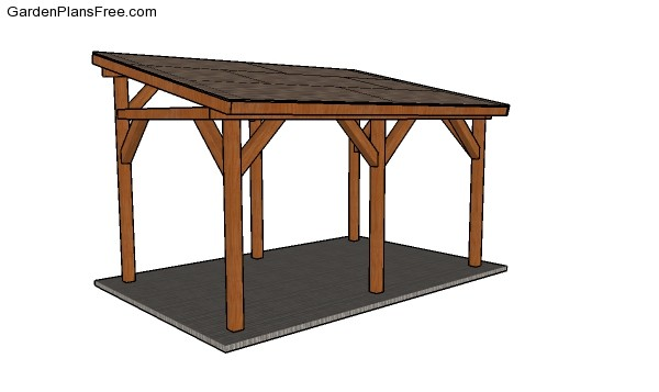 Lean To Carport Plans Free Pdf Download Free Garden Plans