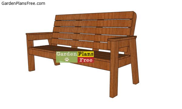 patio bench plans free pdf download