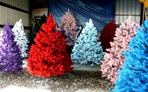 colorfull-artificial-christmas-trees