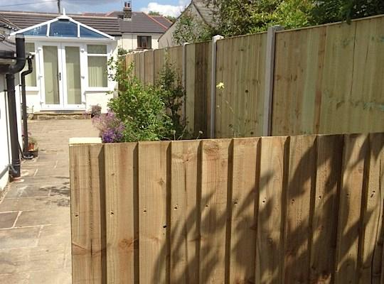 A new fence in Wilsden