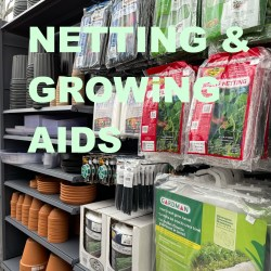 Netting, Seeding and Growing Aids