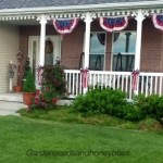 Fourth of July Front Porch & DIY Wood Flag