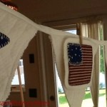 July Fourth Flag & Star Banner
