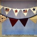 July Fourth Banner