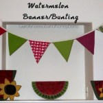 Watermelon Banner/Bunting