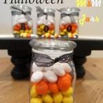 Candy Corn M&M Jars