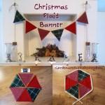 Christmas Plaid Banner