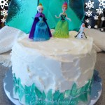 Frozen Ice Candy Cake