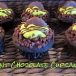 Mint Dark Chocolate Cupcakes