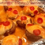 Mushroom & Turkey Pepperoni Bites