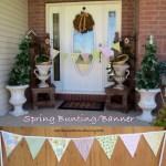 Spring Bunting//Banner