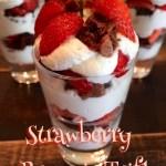 Strawberry & Brownie Trifle