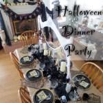 Spider Halloween Dinner Party