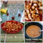 Pretzel Bites and Nacho Cheese Dip