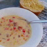 Creamy Cheese Corn Chowder