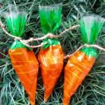 Chocolate Covered Pretzel Carrots