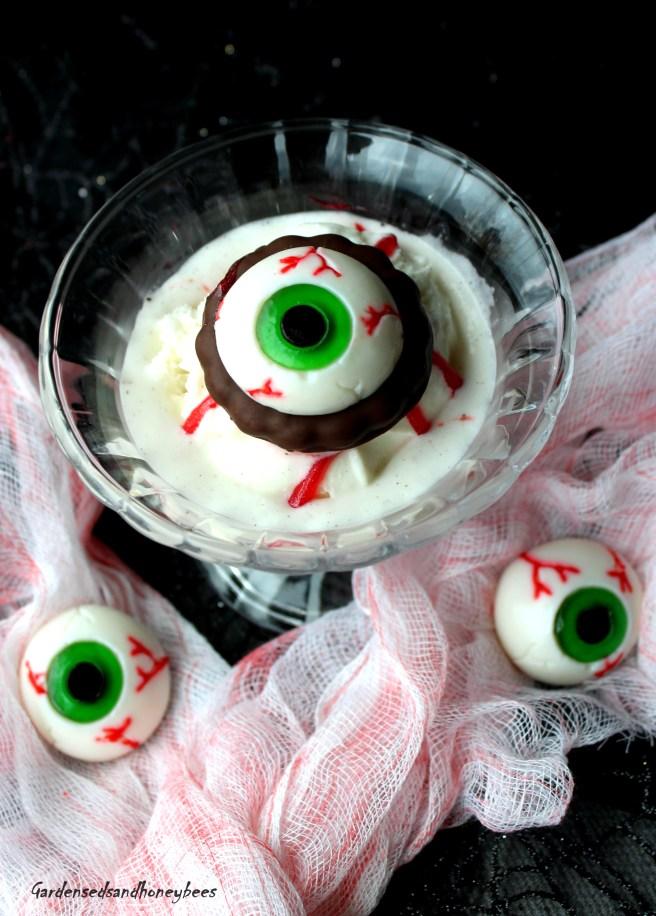Spooky Eyeball Ice Cream