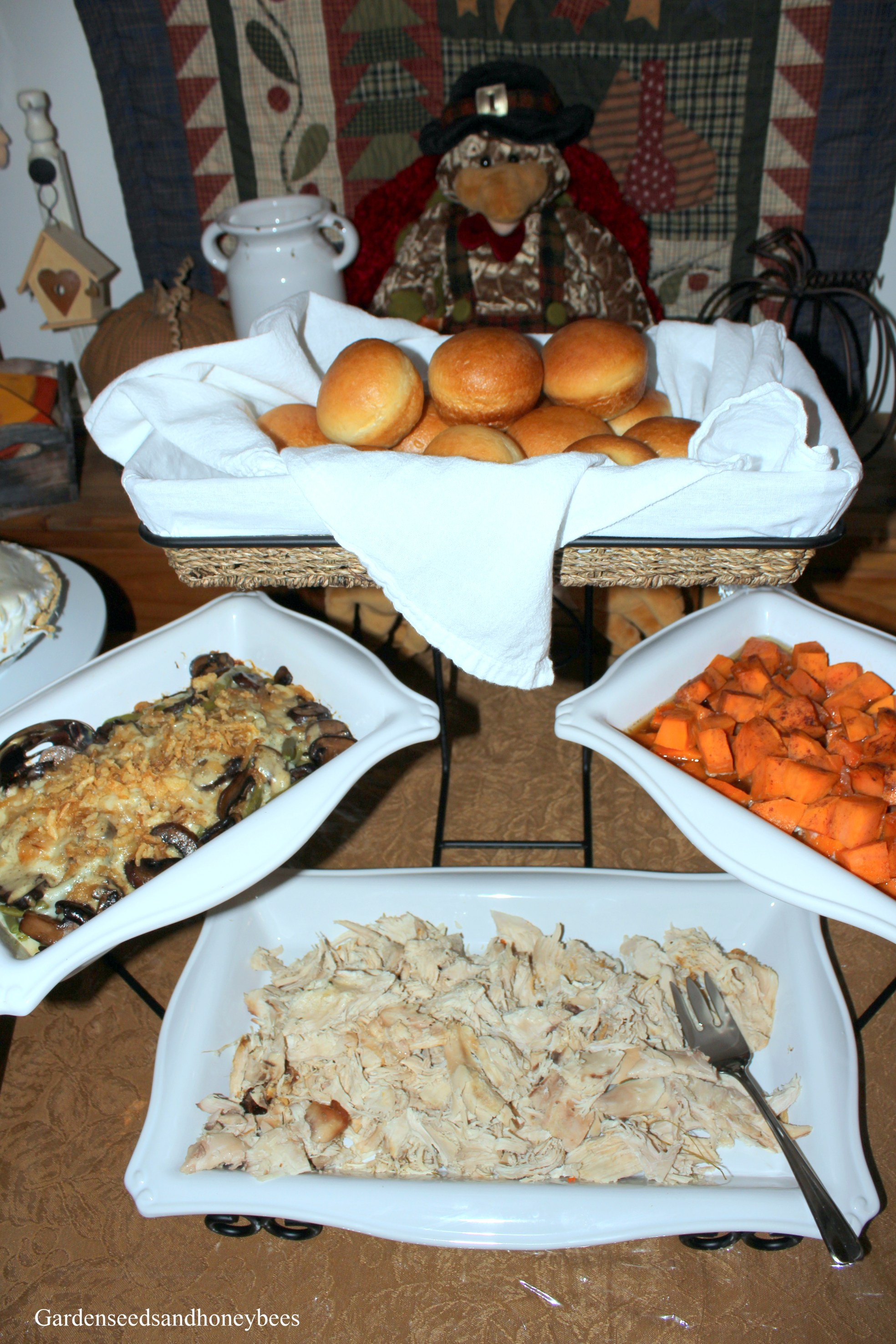 Thanksgiving Dinner Party - Garden Seeds and Honey Bees