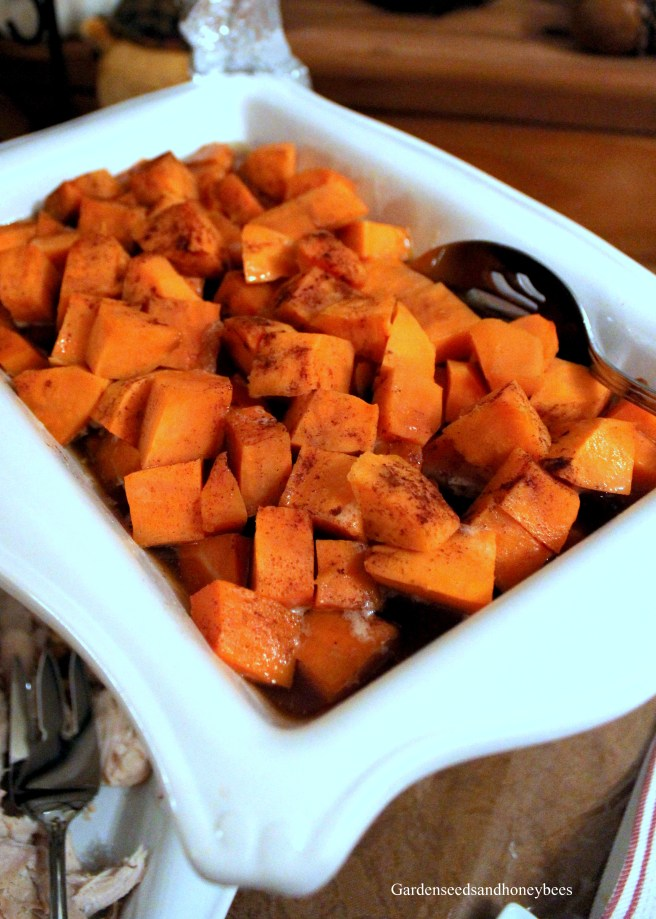 Easy Thanksgiving Sweet Potatoes