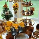Pioneer Honey Bee Party Food