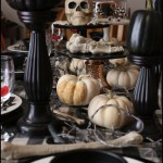 Halloween Bone Dinner Party Tablescape