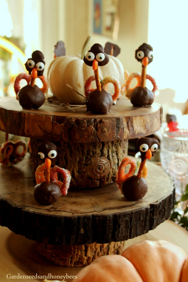 Rustic Thanksgiving Garden Seeds And Honey Bees