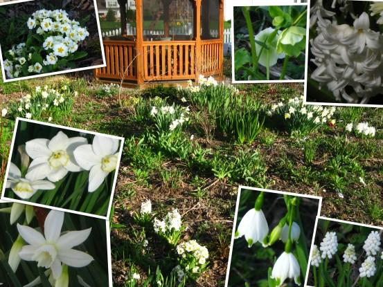 April white garden