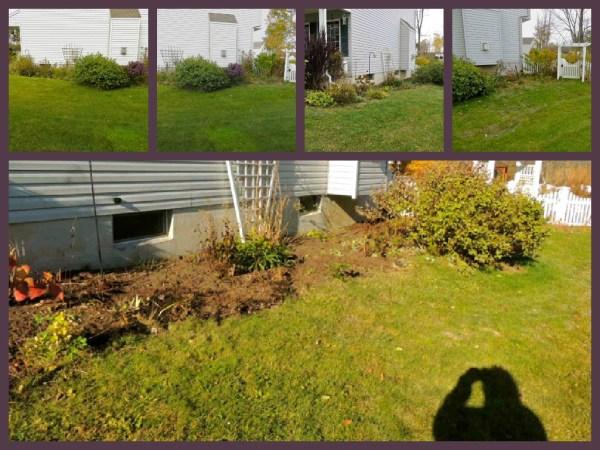 side garden fall