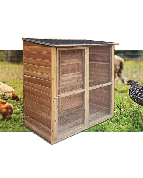 Fern Aviary Timber
